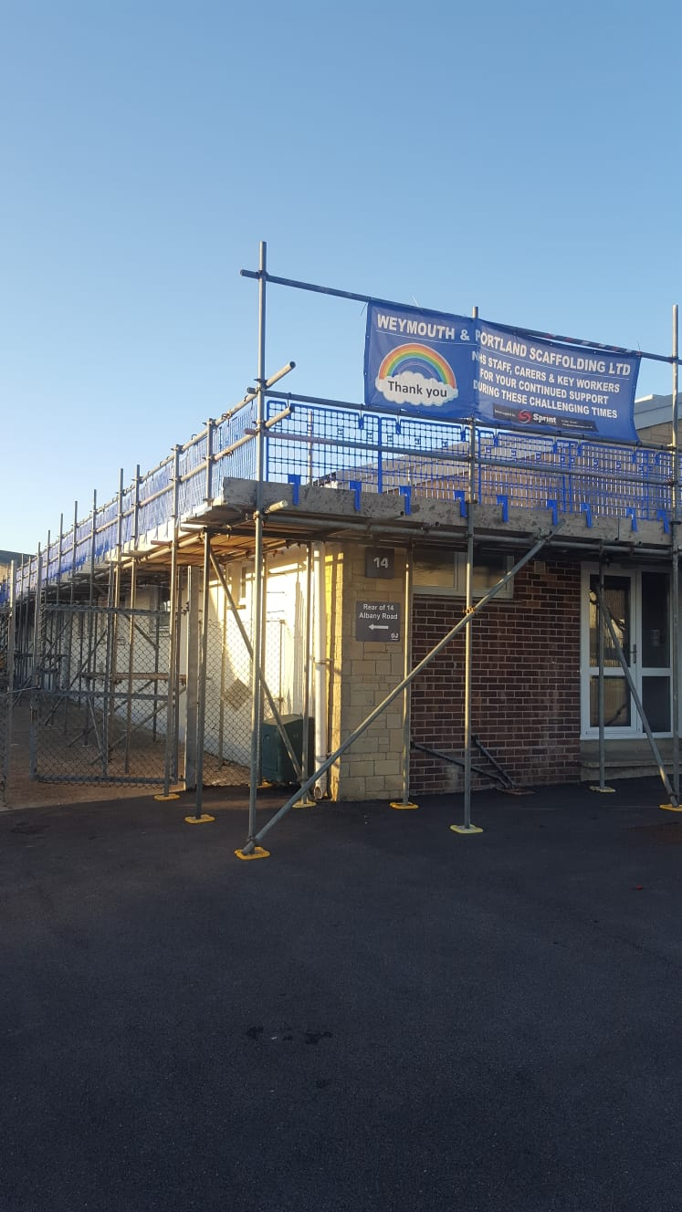 Commercial Scaffolding Weymouth
